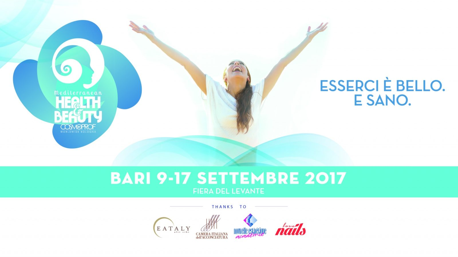 Mediterranean Health & Beauty By Cosmoprof Bologna Ed. 2017. Photo Michele Carnimeo. Copyright Nouvelle Esthétique Académie All Rights Reserved