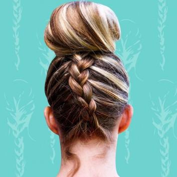 chignon-capelli-treccia-donna-acconciatura