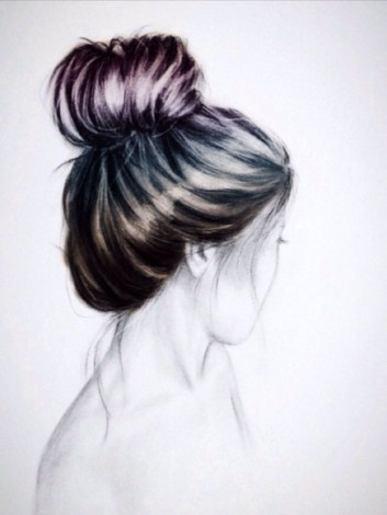 drawings-disegno-girls-donna-hair-capelli-acconciatura