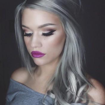 grey-grigio-hair-capelli-makeup-trucco