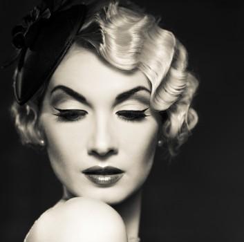 hair-retro-vintage-40s-makeup