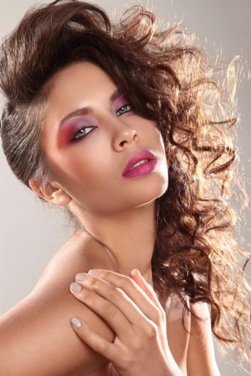 makeup-hair-trucco-capelli-unghie-nails-80-vintage-retro