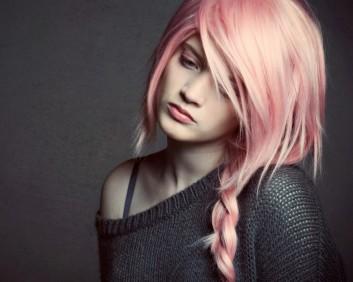 pink-rosa-capelli-hair-ragazza-girl