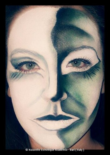 portrait-ritratto-makeup-trucco-creative-creativo-face-painting-Nouvelle
