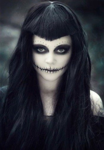 witch-strega-halloween-makeup-trucco